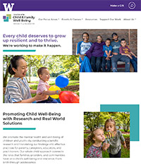 UW Center for Child & Family Well-Being
